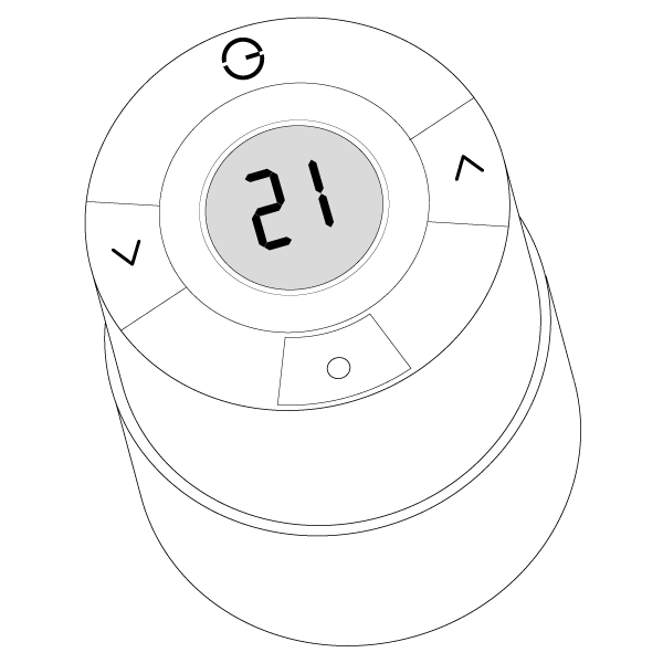 Danfoss Radiator Thermostat Symbols